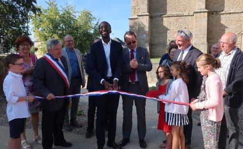 inauguration du bourg par Herve Berville septembre 2019